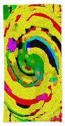 Designer Phone Case Art Colorful Rich Bold Abstracts Cell Phone Covers Carole Spandau Cbs Art 139  Beach Towel