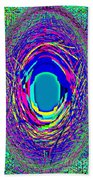 Designer Phone Case Art Colorful Rich Bold Abstracts Cell Phone Covers Carole Spandau Cbs Art 140  Beach Towel