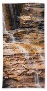 Desoto Falls Beach Towel