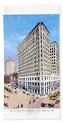 Detroit - The Lafayette Building - Michigan Avenue Lafayette And Shelby Streets - 1924 Beach Towel