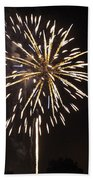 Detroit Area Fireworks -4 Beach Towel
