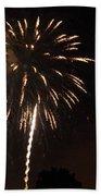 Detroit Area Fireworks -6 Beach Towel