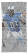 Detroit Lions Team Beach Towel