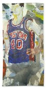 Detroit Pistons Bad Boys  Beach Towel