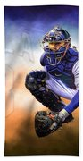 Detroit Tiger Alex Avila Beach Towel