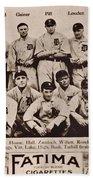 Detroit Tigers 1913 Beach Towel