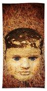 Devil Child Beach Towel by Edward Fielding