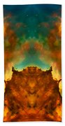 Devil Nebula Beach Towel