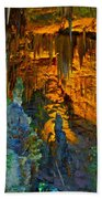 Devils Cavern Bari Greece Beach Towel