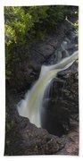 Devils Kettle Falls 3 Beach Towel