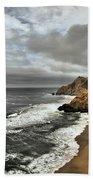 Devil's Slide Beach Beach Towel