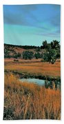 Devils Tower Daybreak Beach Towel