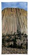 Devils Tower Beach Towel