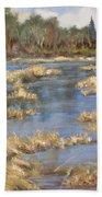 Devon Bog Oil Beach Towel