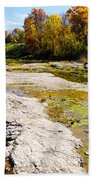 Devonian Fossil Gorge Coralville Lake Ia 1 Beach Towel