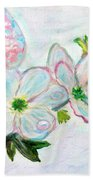 Dew And Smell Of Almond Flowers Beach Towel