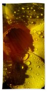 Dew Trumpet Beach Towel