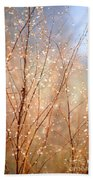 Dewdrop Morning Beach Towel