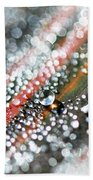 Dewdrops On Durban Beach Towel
