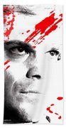 Dexter Dreaming Beach Towel