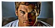 Dexter Portrait Beach Sheet