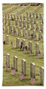 Dfw National Cemetery II Beach Towel