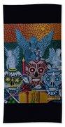 Dia De Los Muertos Beach Towel