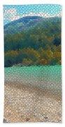 Diagonal Beach Towel