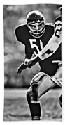 Dick Butkus Beach Towel