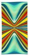 Digital Art Pattern 8 Beach Towel by Amy Vangsgard