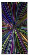 Digital Infinity Abstract Beach Towel