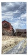 Dilapidated Barn Beach Towel