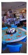 Diner On Route 66 Beach Towel