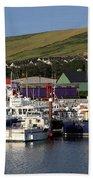 Dingle Harbour County Kerry Ireland Beach Towel