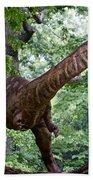 Dino In The Bronx Three Beach Towel