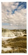 Dinosaur Badlands Beach Towel