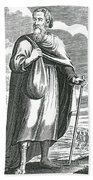 Diogenes Of Sinope, Ancient Greek Beach Towel