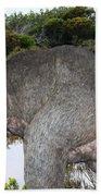 Diprotodon Beach Towel