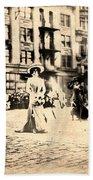 Directoire Gown - Philadelphia Mummers 1909 Beach Towel
