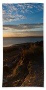 Discovery Park Lighthouse Sunset Beach Towel