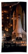 Discovery Space Shuttle Beach Towel