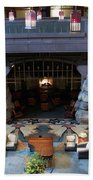 Disneyland Grand Californian Hotel Fireplace 01 Beach Towel