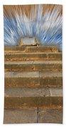 Display Hall At Temple Of Apollo Hylates Beach Towel
