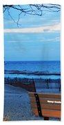 Distant Lighthouse Beach Towel