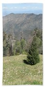 Distant View - Mount Lemmon Beach Towel