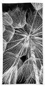 Ditch Lace Bw Beach Towel