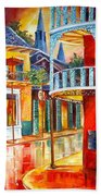Divine New Orleans Beach Towel