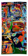 Divinely Blessed Marital Harmony 26 Beach Towel