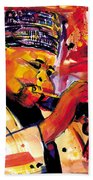 Dizzy Gillespie Beach Towel