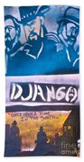 Django Once Upon A Time Beach Towel